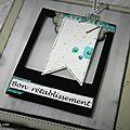 Carte <b>Bon</b> <b>rétablissement</b> façon album