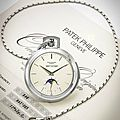 An extremely rare pocket watch by Patek Philippe Reference 844 in white gold sells for $475,488