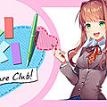 Test de Doki Doki <b>Literature</b> Club - Jeu Video Giga France