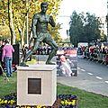 La statue de jean-claude van damme