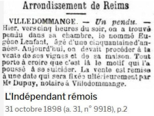 1898 PENDU