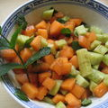 Petite salade ensoleillée