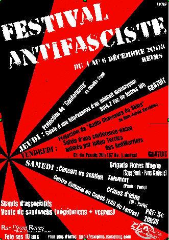 Festival Antifasciste 2008