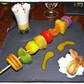 Brochette de macarons