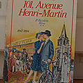 101, avenue Henri-Martin (la <b>bicyclette</b> bleue)