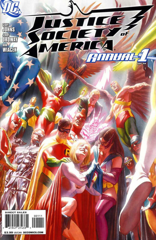 justice society of america annual 01