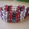 Bijoux aimantés (rouge)