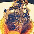 Cupcakes tout chocolat.