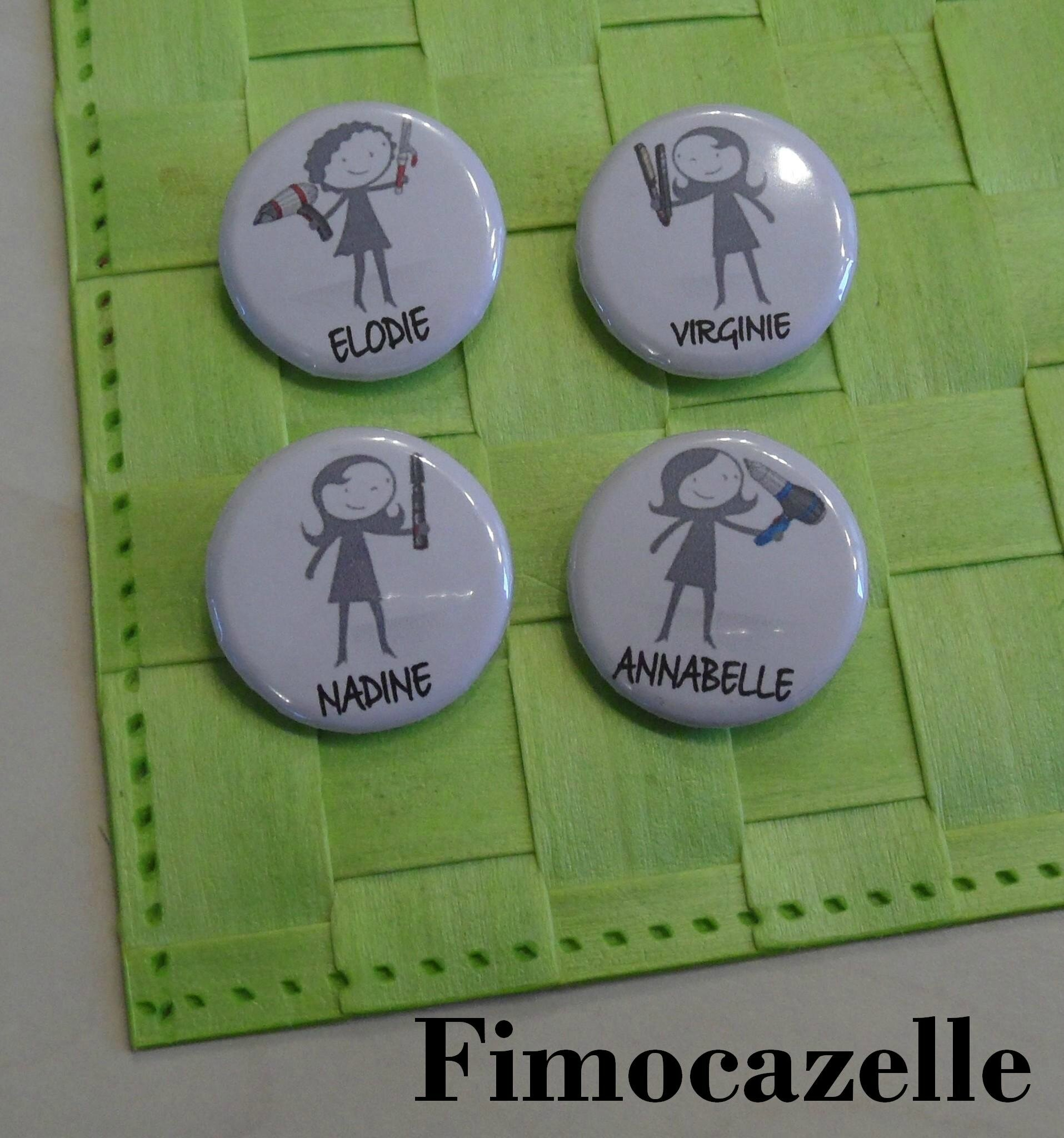 badges virginie
