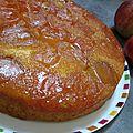 Avec des pommes, un délicieux gâteau...