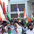 Les travailleurs indiens ont lancé une grève générale de 250 millions de personnes