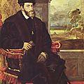 14 - TITIEN Charles Quint assis 1548 - Münich - univ Montpellier
