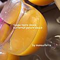 <b>Soupe</b> toute douce, butternut patate douce orange
