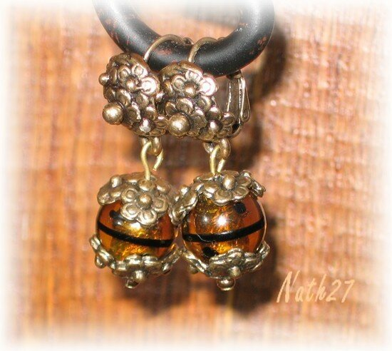 Boucles Remy Dis murano