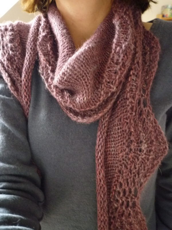 Abyssal shawl laine loops