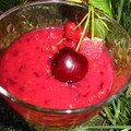Gaspacho aux fruits rouges