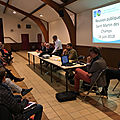 commune nouvelle entre <b>Avranches</b> et Saint-Martin-des-Champs : vidéos des réunions publiques des 12 et 14 juin 2018