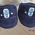 Des casquettes pour les vacances !