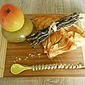 Tarte aux pommes canada grise