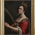 Artemisia at The National Gallery, London from 3 October 2020 to 24 January 2021