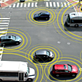 5G enables <b>connected</b> and driverless <b>cars</b>