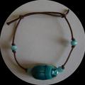 bracelet scarabée egypte