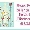Flowers party 1
