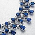 A <b>sapphire</b> <b>and</b> <b>diamond</b> <b>necklace</b>, by Graff