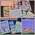 ☀️ mes magazines reçus et le début du projet zespri sungold kiwis avec les initiés pour ce week end ☀️