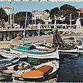 Toulon - port du Mourillon datée 1964