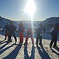 00414) ski violets