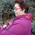 Gadouille et son incroyable manteau customisé, Rencontre chez Olga, mars 2015