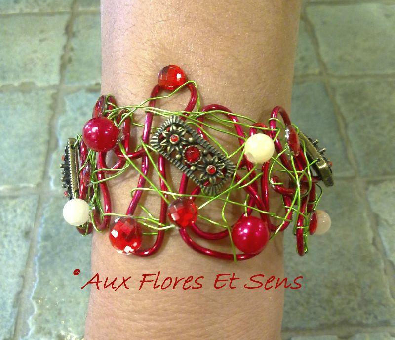 Bracelet de Mariage rouge