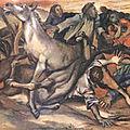 Sicile - Palerme et le Val di Mazara (32/35). Renato Guttuso et le massacre de Portella della Ginestra.