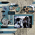 Photo - page scrappée par cathy contiero - collection cliché