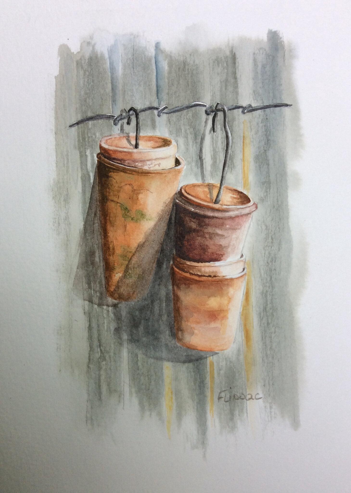Les petits pots...