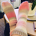 Mes <b>chaussettes</b> Tie and die