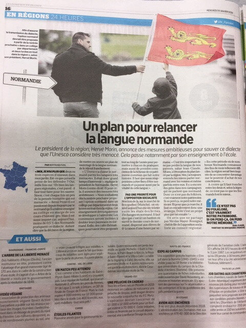 LANGUE NORMANDE: la mesquinerie de OUEST-RANCE est manifeste!