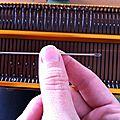 Machine à tricoter, 2ème partie