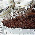 Moelleux au chocolat vegan et sans gluten { recette }