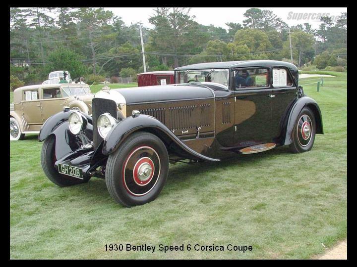 1930 - Bentley Speed 6 Corsica coupe
