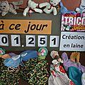 Tricot compteur solidaire du lundi 12 novembre 2012