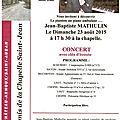 Prochainement le pianiste au piano ambulant : jean-baptiste mathulin