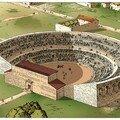 l'amphithéâtre à scène de Lutèce (aujourd'hui Les Arènes)