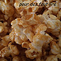 <b>Pop</b>-corn au caramel au beurre salé (sans gluten)