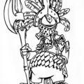 Le chevalier poulet^^
