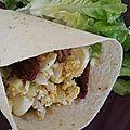 Maxi wrap poulet/guacamole