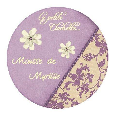 Mousse de Myrtille