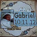album pour Gabriel