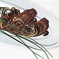 Foie de veau aux oignons
